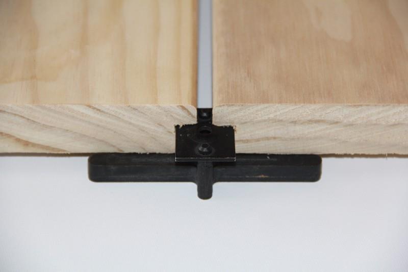 Terrassenclip für Holz Unterkonstruktion Mittelverbinder